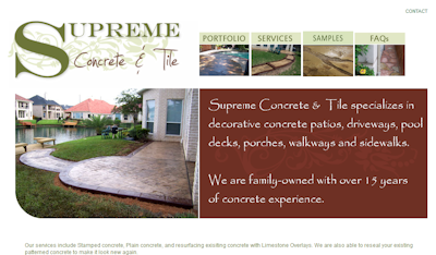 Supreme Concrete and Tile